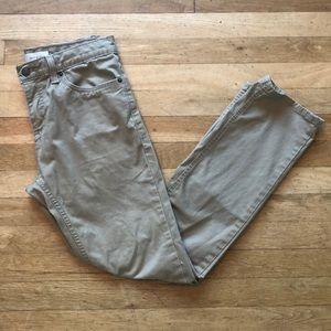 Khaki Levi's 511 Slim